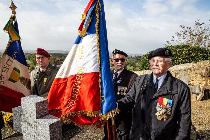 Bruno Rollin, du 17e régiment du génie parachutiste de Montauban, né le 10 mai 1963 à Bühl-Baden et mort à Beyrouth le 6 juillet 1983, en déminant un immeuble. Louis Saint-Ygnan organise dimanche 3 novembre 2019 une courte cérémonie autour de sa tombe. 20191104184617UPrS-image(linked_img)