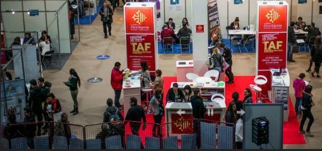 Auch le salon taf a attir plus de 1500 visiteurs le for Salon du taf montpellier