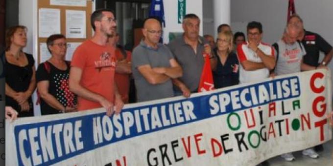 CHS en grève Juin 2019.PNG