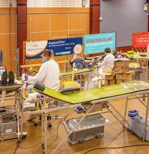0 Collecte de sang Salle poly à Eauze 210121.jpg
