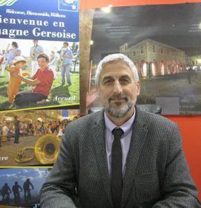 Ballenghien, président de la Lomagne Gersoise, lors de la présentation de ses vœux 2021.JPG