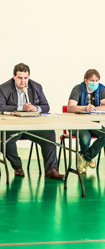 0 Jean Duclavé Patricia Galabert Vincent Gouanelle Eric Artigole Bernard Hamel et Pierre Cazères 1bis 070621.jpg