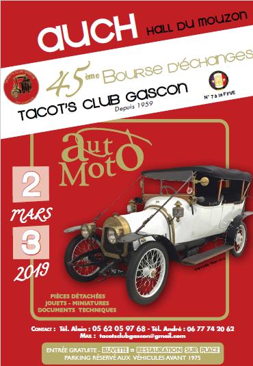 Au Journal Anciens De Mouzon 45ème Bourse Gers Véhicules Le Du WHEDY29I