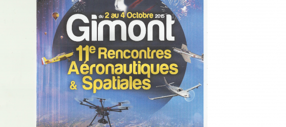 Programme rencontres aeronautiques gimont